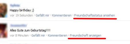 Facebook Gekündigte Freundschaften Anzeigen