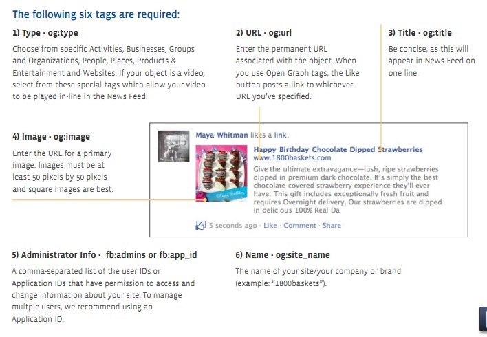 Offizielle Facebook Whitepaper: Like Button Best Practices + Open Graph Tags (English)