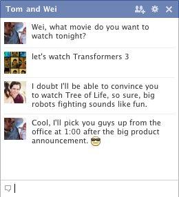 Facebook Launching Season 2011 – Group Chat