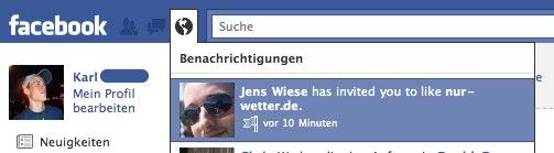Facebook Pages: Freunde einladen jetzt wieder mit Benachrichtigung möglich