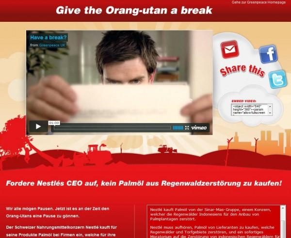 Interview: Die Aktivitäten von Greenpeace im Social Web und auf Facebook