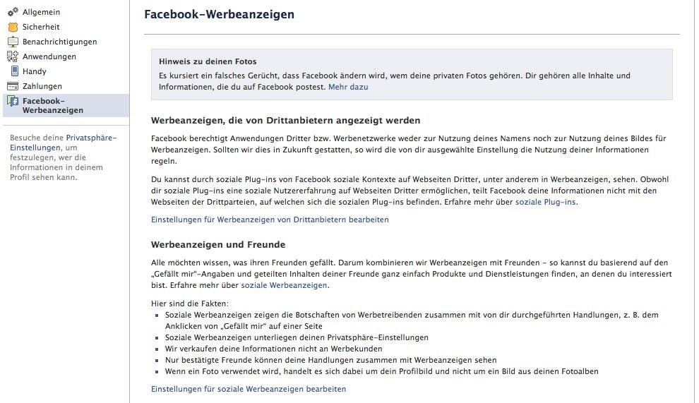 Facebook überarbeitet die Kontoeinstellungen und gestaltet diese nutzerfreundlicher