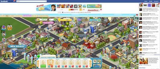 Cityville Fullscreen (Quelle: Facebook)