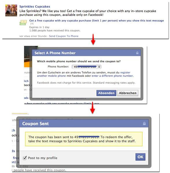 Neue Facebook SMS Deals auf dem Weg?