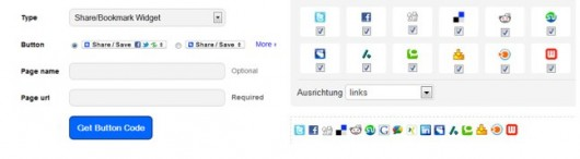 Addtoany und Cleverreach Plug-Ins