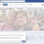 Tour 01 - Das neue große Titelbild des Facebook Profils. Hier hat Facebook automatisch eins ausgewählt, man kann aber natürlich selbst einstellen was hier erscheint