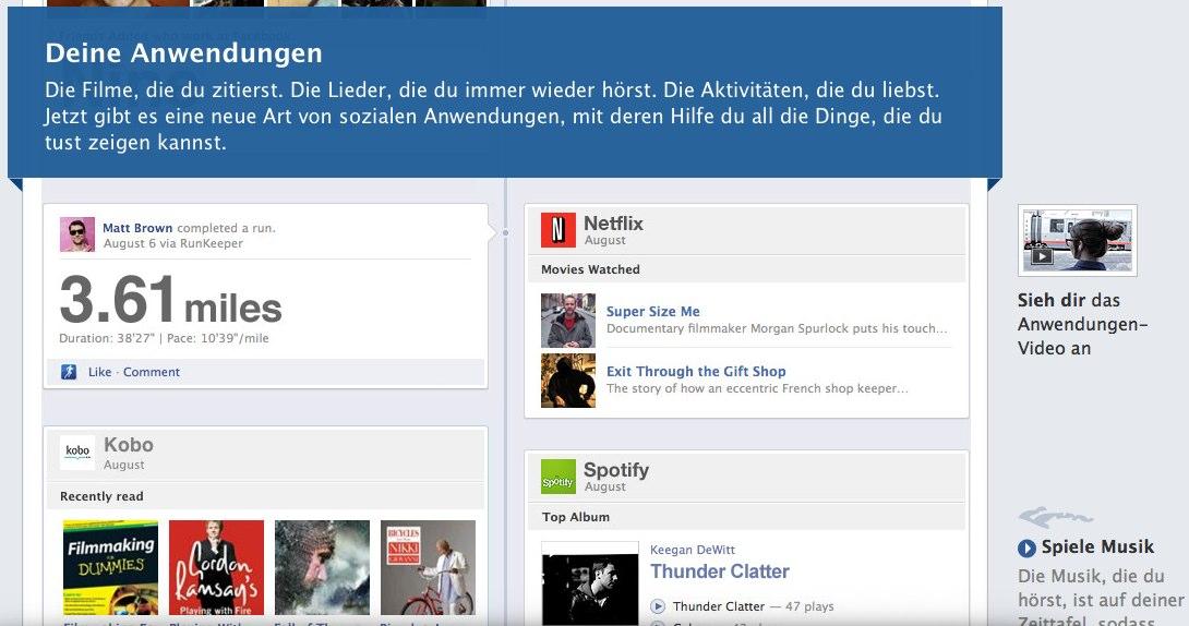 Facebook Timeline (Zeittafel / Chronik): Die neuen Facebook Profile kommen!