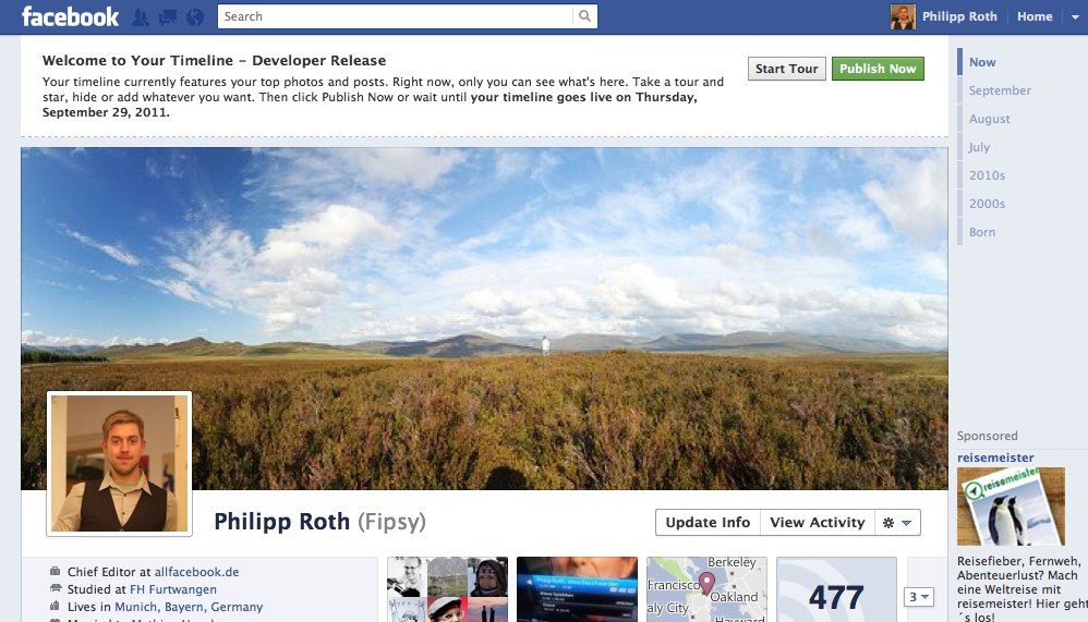 Tutorial: Neues Facebook Profil (Timeline) jetzt nutzen!