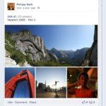 Eine von mir hochgeladene Fotogalerie auf meinem neuen Facebook Profil.
