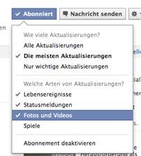 Facebook Subscriptions: Neues Tool zum Abonnieren von privaten Profilen in Facebook