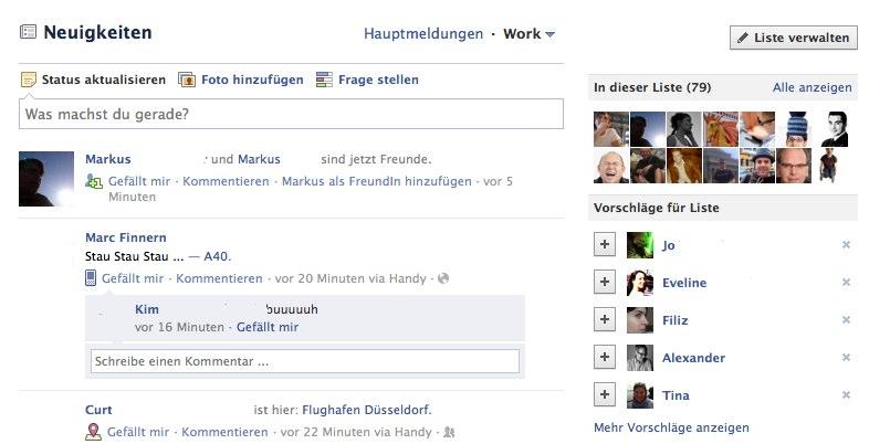Facebook Newsstream: Neue Filter nach Inhalten jetzt verfügbar