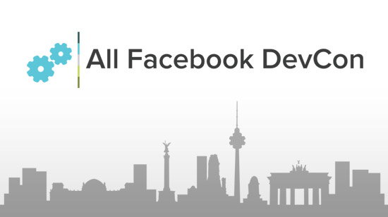 Noch 95 Tage: Allfacebook.de DevCon in Berlin