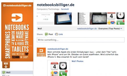 notebooksbilliger.de Fanpage