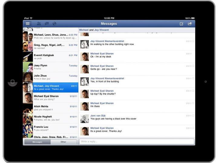 Facebook iPad App nun offiziell verfügbar