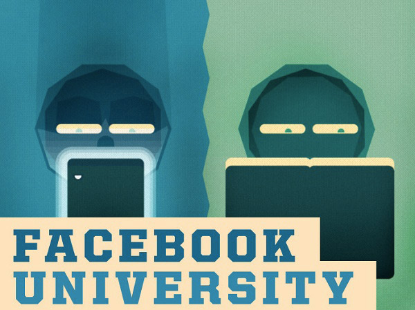 Infografik: Facebook University – How Social Network is Enriching The College Experience