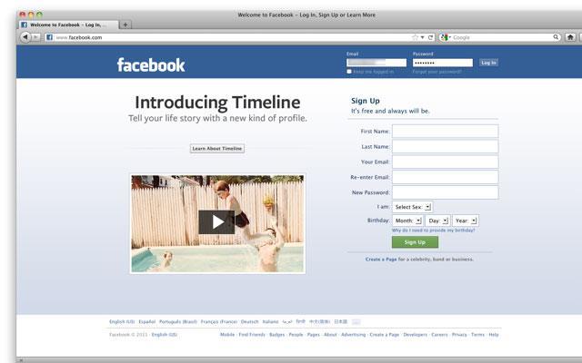 Rollout gestartet: Die Facebook Timeline / Chronik ist ab jetzt verfügbar!