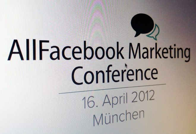 AllFacebook Marketing Conference – Jetzt noch Earlybird Tickets sichern