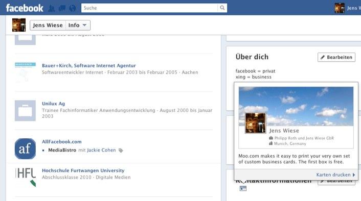 Jetzt Kostenlose Facebook Visitenkarte Sichern Allfacebook De