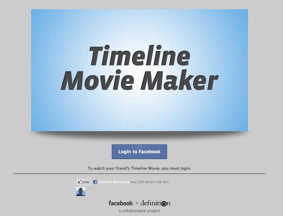 """Mit dem """"Timeline Movie Maker"""" jetzt einen eigenen Film der Chronik erstellen"""