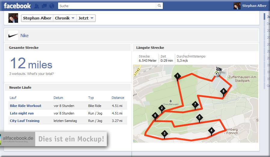 """Nike+ GPS und weitere """"Map"""" Apps kurz vor der Veröffentlichung?"""