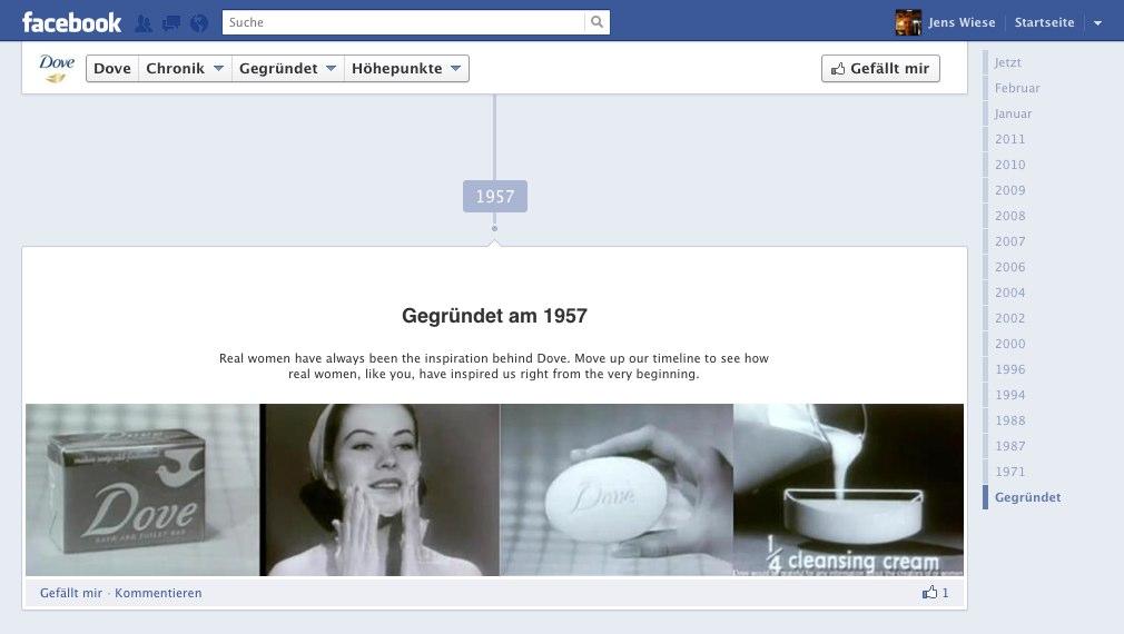 fmc 2012: Timeline für Pages – Erzähle die Geschichte deines Unternehmens