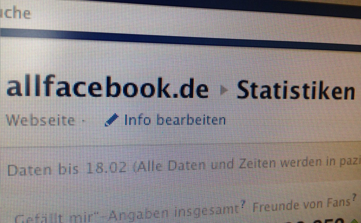 Das Problem mit den Facebook Insights