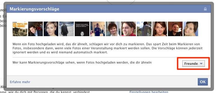 Wusstest du schon: Facebook Gesichtserkennung deaktivieren