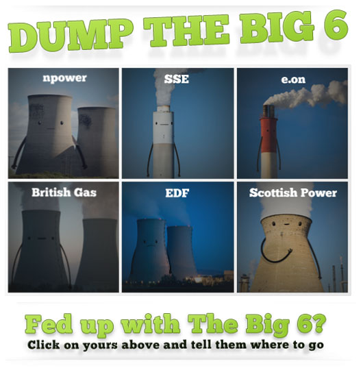 Screenshot: Dump the big six