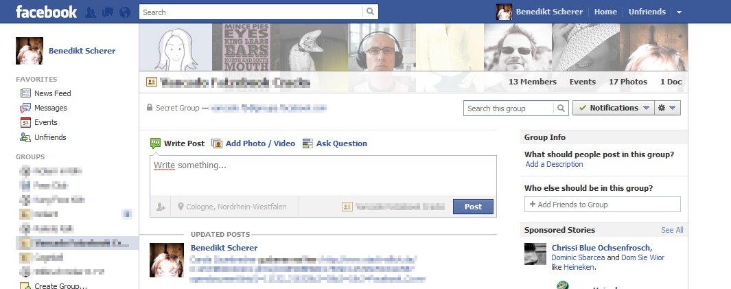 Facebook Gruppen: Neues Design & überarbeitete Administration (Update)