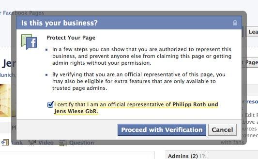 """Getestet: """"Protect Your Page"""" – Die eigene Facebook Page """"schützen"""""""
