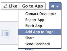 """Nicht so wie gewünscht: """"Add App to Page"""" Funktion wieder da"""