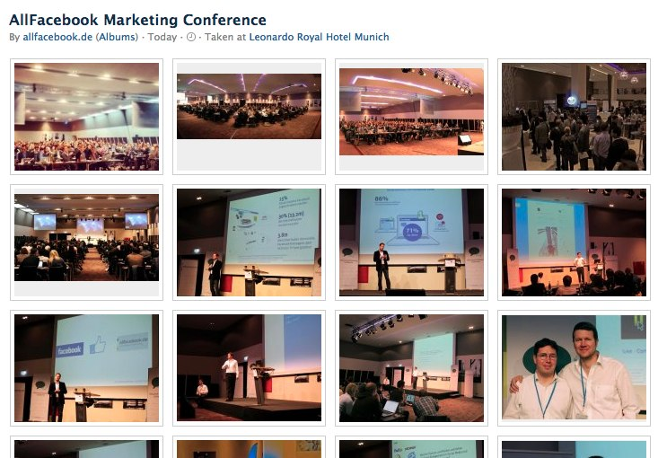 Bilder: AllFacebook Marketing Conference