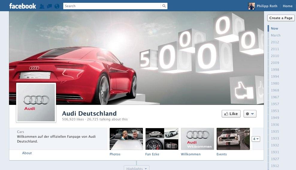 Interview: Die AUDI AG im Social Web und auf Facebook