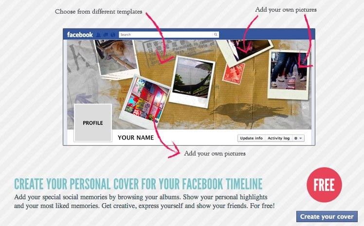 Neue Anwendung: Social Memories Coverfoto Designer
