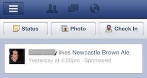 Facebook erweitert die Werbung im mobilen Newsfeed