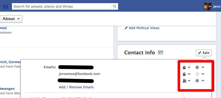Aufpassen: Facebook hat eure Kontaktdaten geändert