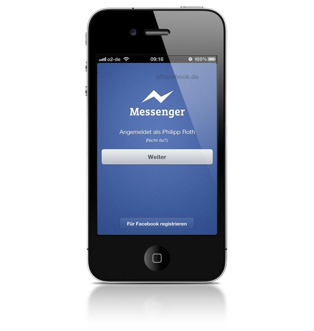 """Facebook Messenger 2.0 für iOS jetzt mit """"Bubbles"""""""
