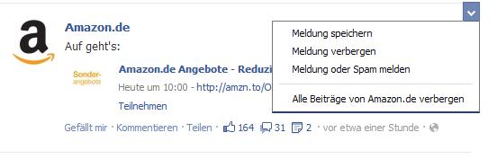 """Facebook testet """"Später lesen"""" Funktion mobil und im Browser"""