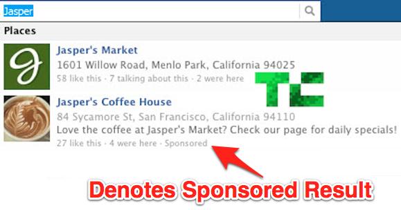 Da hilft kein Adblock: Facebook testet Werbung in der eigenen Suche