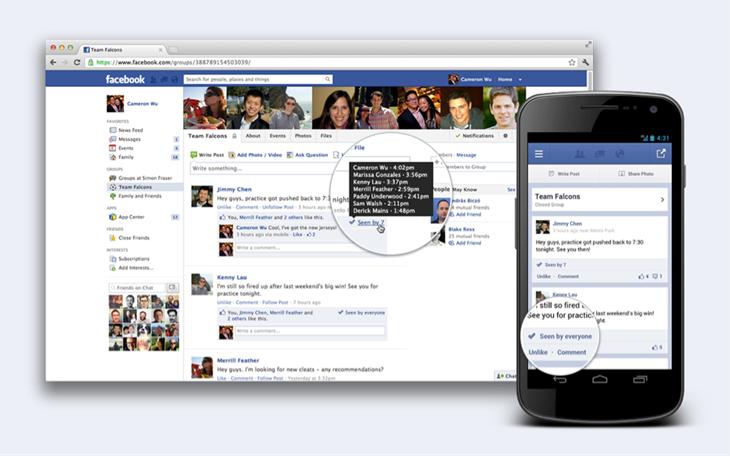"""Facebook Gruppen bald mit """"Wer hat es gesehen""""-Funktion"""