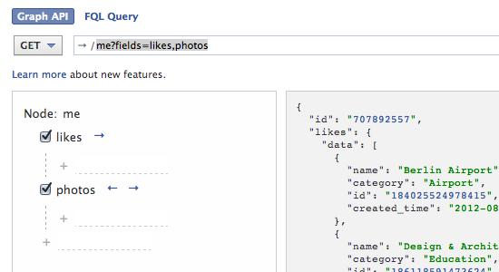 Developer aufgepasst: Field Expansion im Open Graph als API-Turboboost