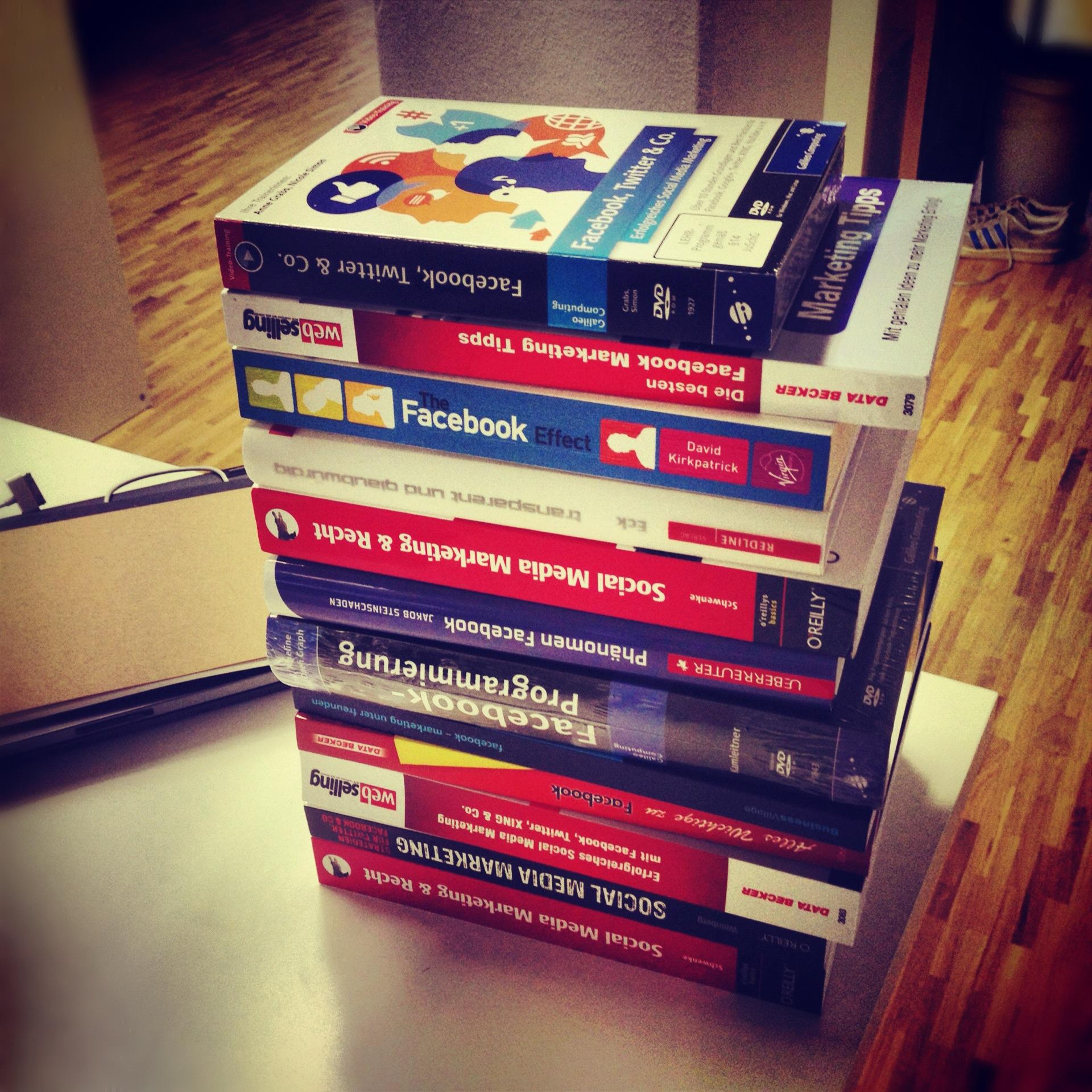 Verlosung: 17 Bücher über Facebook bei AllFacebook.de gewinnen!