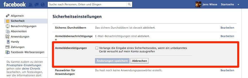 Achtung: Facebooks SMS Anmeldebestätigung sperrt Nutzer aus! (Update)