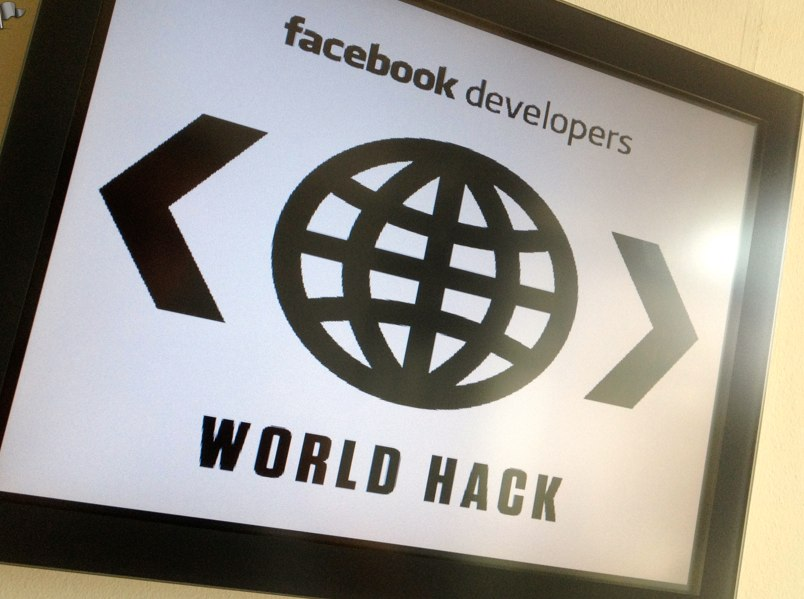 Facebook Developers World HACK – Berlin