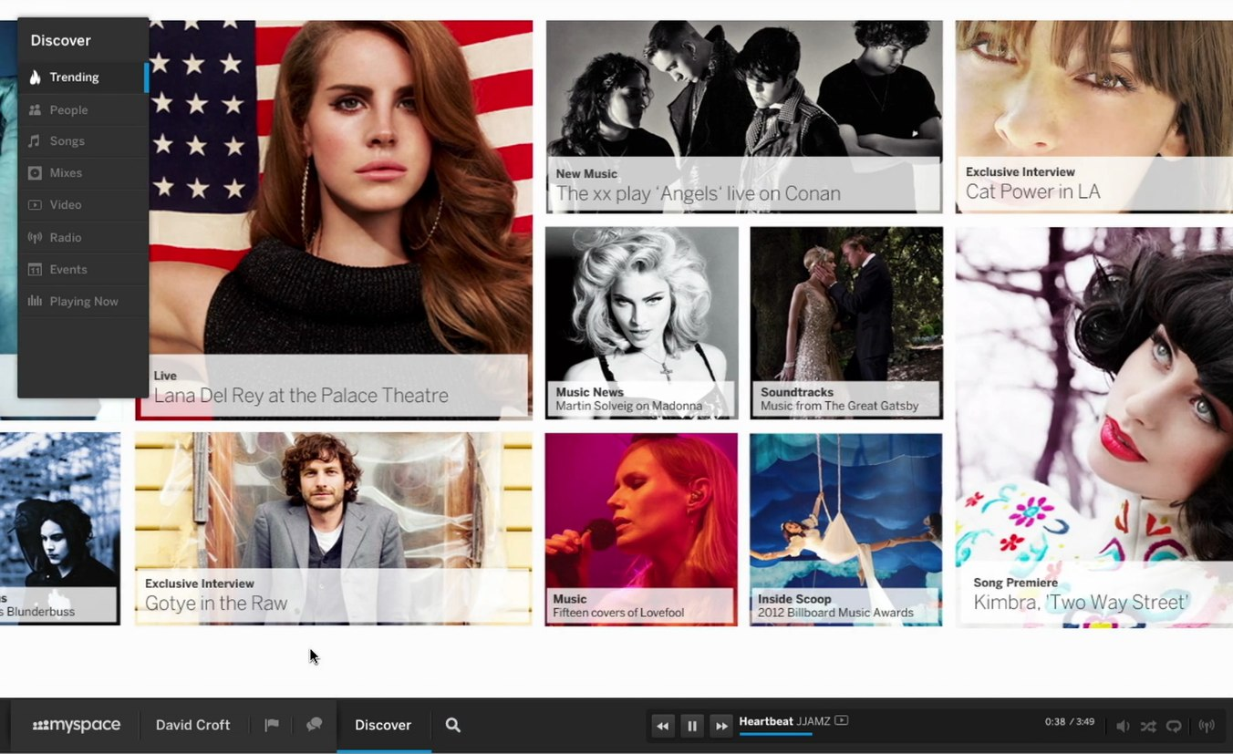 The new myspace – Totgesagte leben länger