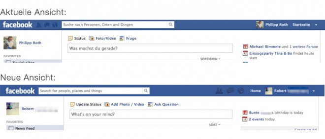 Neues Design Im Header Gibt Der Facebook Suche Mehr Prioritat Und