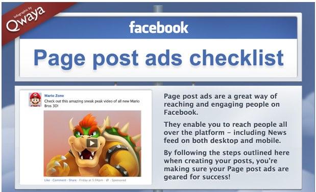 Page Post Ads richtig erstellen – Infografik