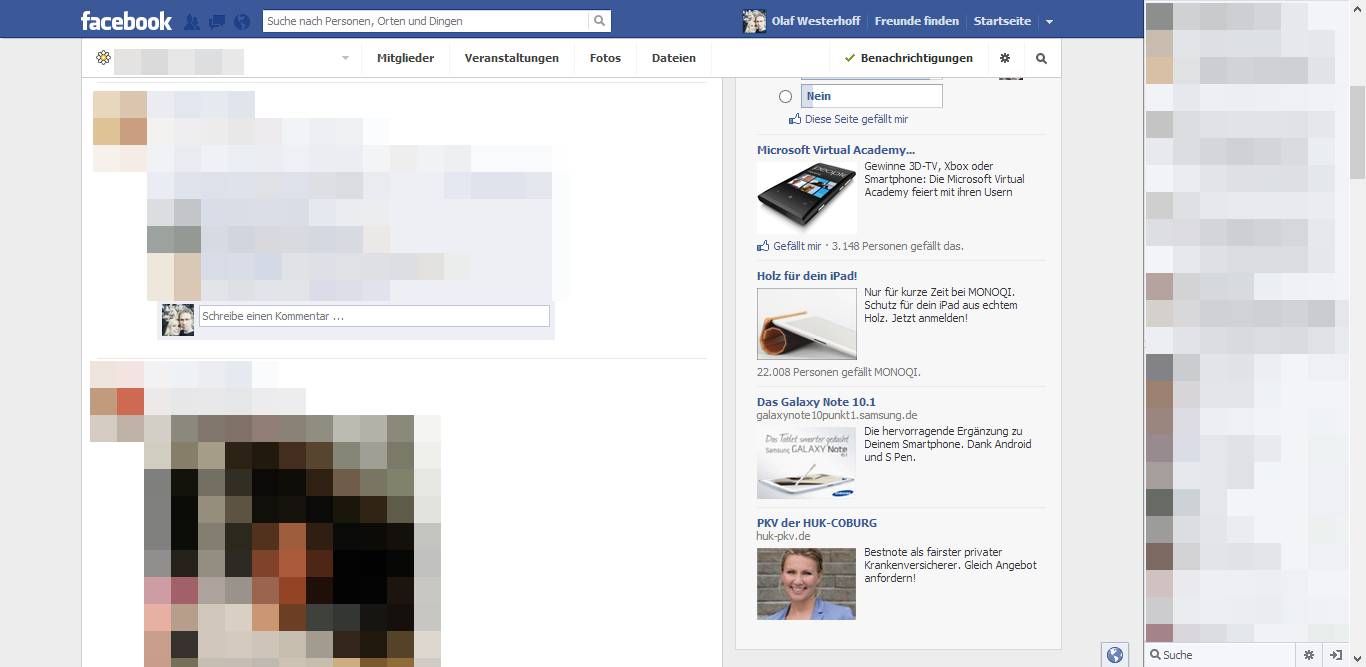 Neues Design: Jetzt auch bei den Facebook Gruppen!