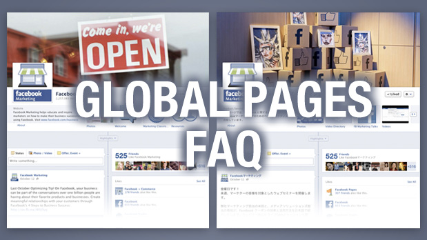 Info & FAQ: Alle Details zu den Facebook Global Pages