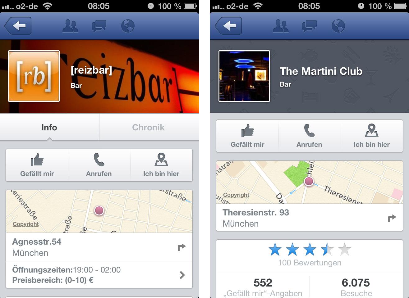 "Sehr cooles Update: Facebook aktualisiert die ""In der Nähe"" / ""Nearby"" Funktion komplett"